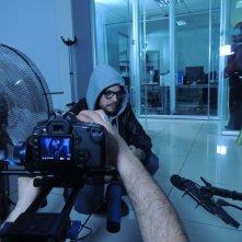Geekerz: un'immagine dal set della web-serie