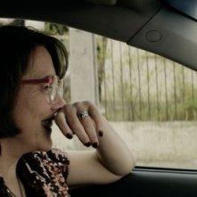 Gloria: la protagonista Paulina García ride in una scena del film