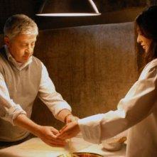 Il pasticciere: Antonio Catania e Rosaria Russo in una scena del film diretto da Luigi Sardiello