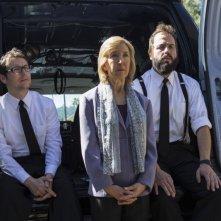 Oltre i confini del male - Insidious 2: Lin Shaye, Angus Sampson e Leigh Whannell in una scena