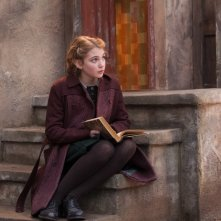 The Book Thief: Sophie Nélisse in una scena del film