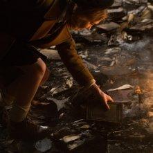 The Book Thief: Sophie Nélisse raccoglie un libro che rischia di bruciare
