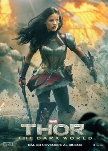 Thor: The Dark World, il character poster italiano con Jaimie Alexander