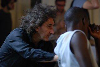 Black Star - Nati sotto una stella nera: il regista Francesco Castellani sul set del film