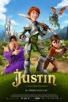 Justin e i cavalieri valorisi: la locandina italiana del film