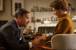Saving Mr. Banks: Tom Hanks impegnato a convincere l'irremovibile Emma Thompson