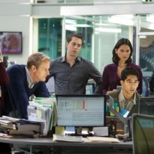 The Newsroom: una scena di gruppo dell'episodio 'Bullies'