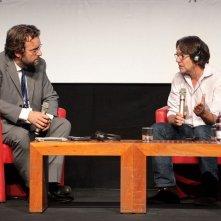 X-Files: Frank Spotnitz durante la sua masterclass al Roma Fiction Fest 2013