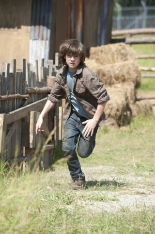 The Walking Dead: Chandler Riggs nell'episodio Infected