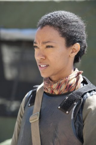 The Walking Dead: Sonequa Martin-Green nell'episodio 30 Days Without an Accident