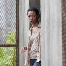 Thw Walking Dead: Sonequa Martin-Green nell'episodio Isolation