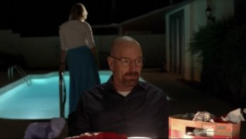 Breaking Bad: Anna Gunn e Bryan Cranston nell'episodio Fifty-One