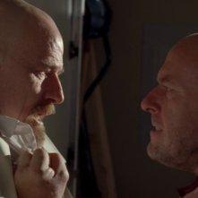Breaking Bad: Bryan Cranston e Dean Norris l nell'episodio Blood Money