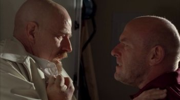 Breaking Bad: Bryan Cranston e Dean Norris l nell'episodio Blood Money