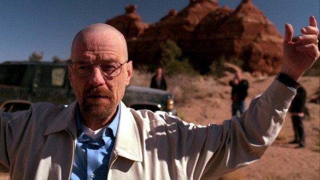 Breaking Bad: Bryan Cranston nell'episodio Riserva indiana (To'hajiilee)