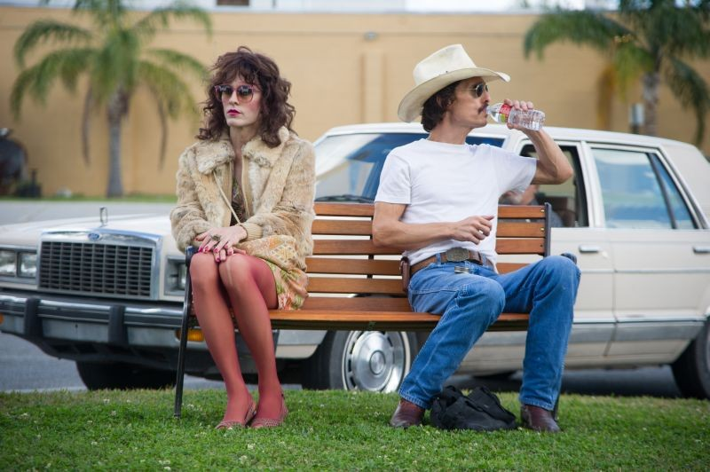 Dallas Buyers Club: Jared Leto e Matthew McConaughey in un scena del film