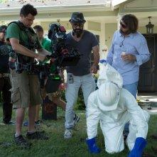 Dark Skies - Oscure presenze: il regista Scott Stewart sul set del film