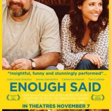 Enough Said: nuovo poster USA