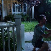 Josh Hamilton con Kadan Rockett, Keri Russell e Dakota Goyo in una scena di Dark Skies - Oscure presenze
