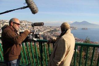 L'amministratore: il regista Vincenzo Marra sul set