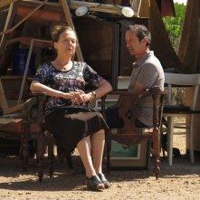Una piccola impresa meridionale: Giuliana Lojodice insieme a Rocco Papaleo in una scena