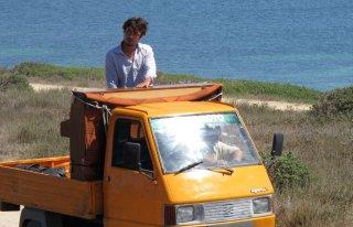 Una piccola impresa meridionale: Riccardo Scamarcio in un'immagine del film