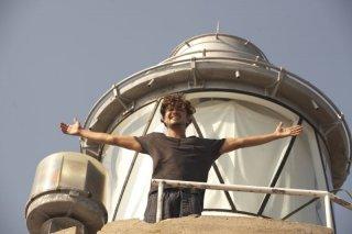 Una piccola impresa meridionale: Riccardo Scamarcio in un momento del film