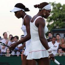 Venus and Serena: Venus e Serena Williams in una scena del documentario