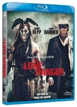 La copertina di The Lone Ranger (blu-ray)