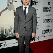 Adam Scott al New York Film Festival sul red carpet de I sogni segreti di Walter Mitty