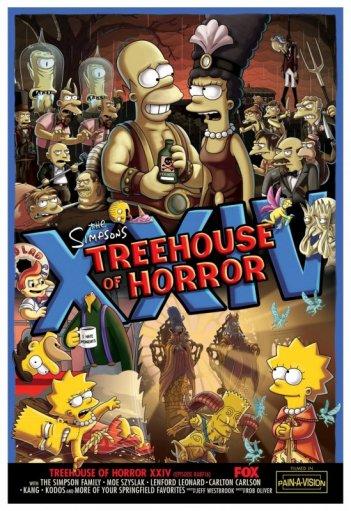 I Simpson: un poster per l'episodio di Halloween del 2013