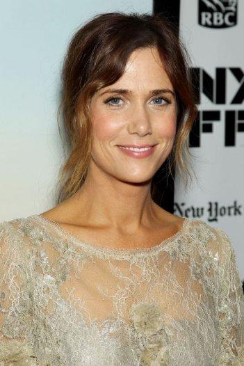 Kristen Wiig al 51° New York Film Festival sul red carpet de I sogni segreti di Walter Mitty