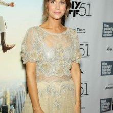 Kristen Wiig al New York Film Festival sul red carpet de I sogni segreti di Walter Mitty