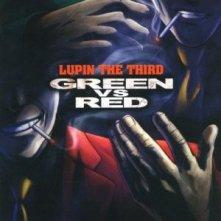 Lupin III: Verde Contro Rosso: la locandina del film