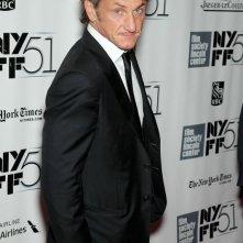 Sean Penn al New York Film Festival sul red carpet de I sogni segreti di Walter Mitty