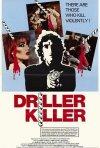 The Driller Killer: la locandina del film