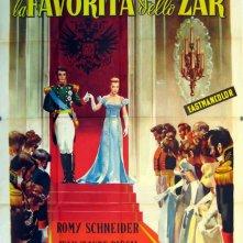 Sissi, la favorita dello Zar: la locandina del film