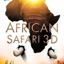 African Safari 3D: la locandina italiana