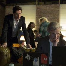 Il Quinto Ptere: Benedict Cumberbatch in una scena del film con Dan Stevens