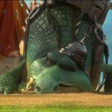 Justin e i cavalieri valorosi: una scena tratta dal film d'animazione
