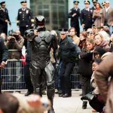 Robocop: Joel Kinnaman in una delle prime immagini del remake diretto da José Padilha