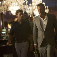 Runner Runner: Ben Affleck e Justin Timberlake in una scena del film