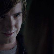 Smiley: Andrew James Allen in una scena del film horror diretto da Michael J. Gallagher