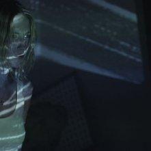 Smiley: Caitlin Gerard in una scena dell'horror