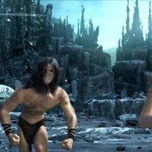 Tarzan: Tarzan e Jane in una delle prime immagini del film