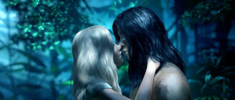 Tarzan: Tarzan e Jane in una tenera immagine del film