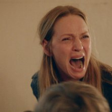 The Nymphomaniac: Uma Thurman urla in una scena del film