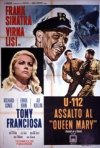U-112 Assalto al Queen Mary: la locandina del film