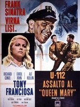U-112 Assalto al Queen Mary: la locandina del film