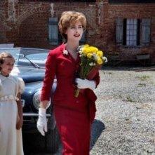 Altri tempi: Vittoria Puccini in una foto di scena della fiction